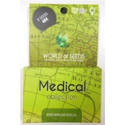 MEDICAL COLLECTION  * WORLD OF SEEDS  8  SEMI FEM