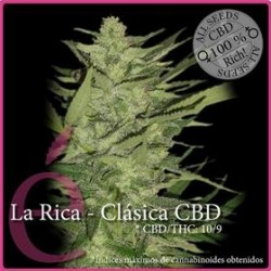LA RICA CBD  * ELITE SEEDS 3 SEMI FEM