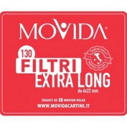 FILTRI EXTRA LONG  MOVIDA BUSTA DA 130 - 6x22 mm