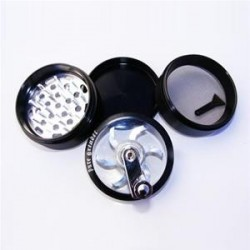 GRINDER CON MANOVELLA CLEAR TOP ROLLER  63 MM 4 PARTI