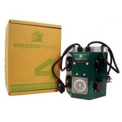GREENPOWER  QUADRO ELETTRICO CON TIMER  4X600W