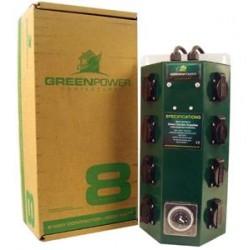 GREENPOWER  QUADRO ELETTRICO CON TIMER  8X600W